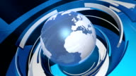 Global Technology 3D World Animation (HD Loop) video