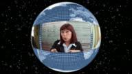 HD LOOP MONTAGE: Global Video Conference video