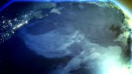 global warming globe earth video