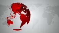 4K Globe Background - Loopable video