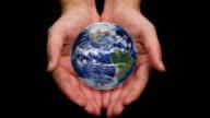 Globe in My Hands - HD, Loop video