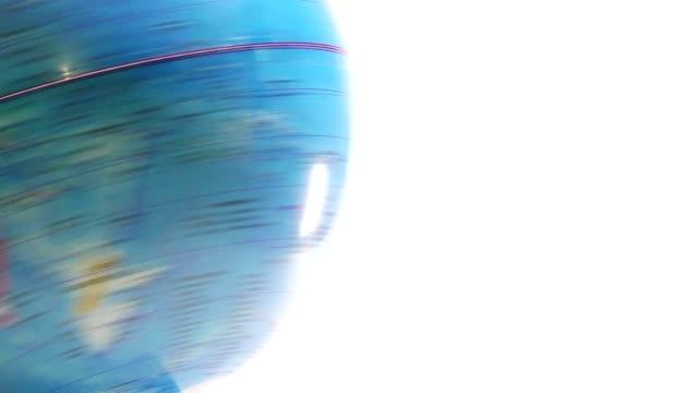 globe spinning video