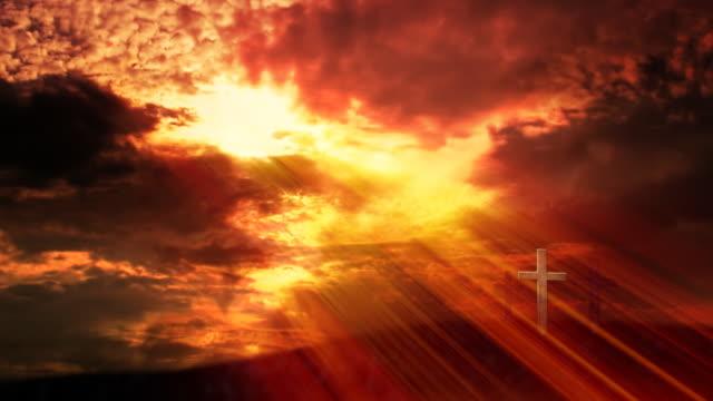 Glory of God. Loop - HD video