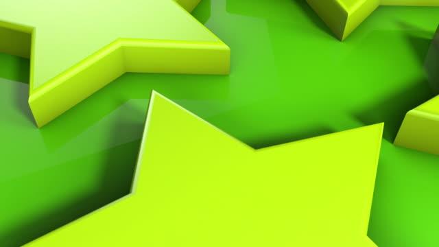 Glossy Stars UpClose - Frog Green (Full HD) video