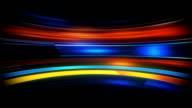 Glow light streaks high tech loopable background video