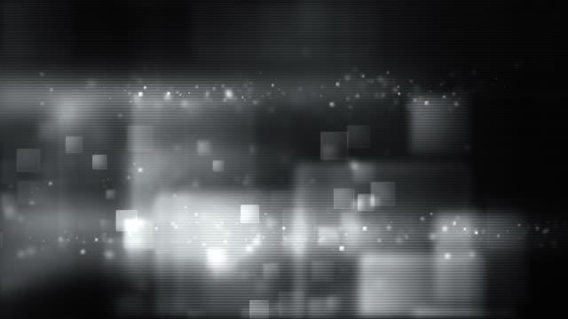 Glowing Boxes Full Screen - Night Silver (HD) video