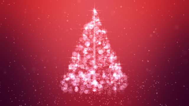 Glowing Christmas Tree Loopable video