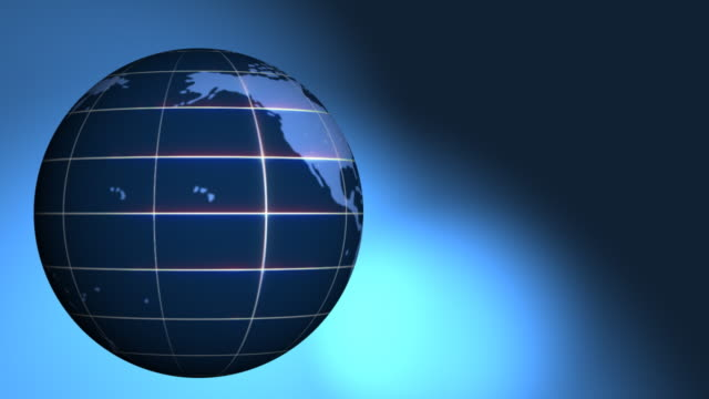 Glowing Globe video
