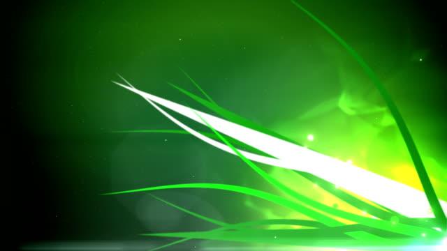 Glowing grass loop video