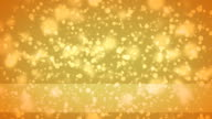 Glowing hearts bokeh, cool abstract hexagons, vibrant background video