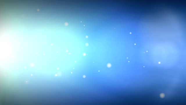 Glowing particles Explosion background. video