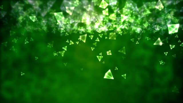 Glowing Pyramids - Loop video
