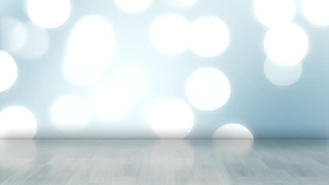 Glowing Scene  - Blue (Loopable) video