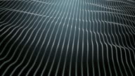 glowing waved lines, abstract background video