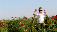 go boy poppies field video