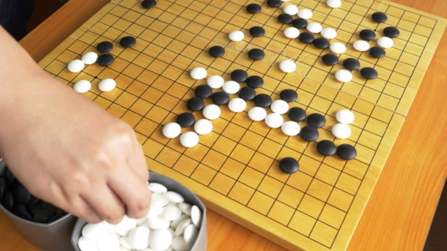 Go game board video