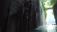 Go through clip of Tkachiho gorge, Miyazaki Prefecture, Japan video