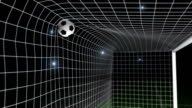 Goal - Football / Soccer ball into net video