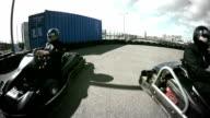 gocarts racing video