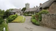 Godshill village Isle of Wight located near Newport and Ventnor video