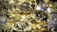 Gold and Diamonds Treasure Pile video