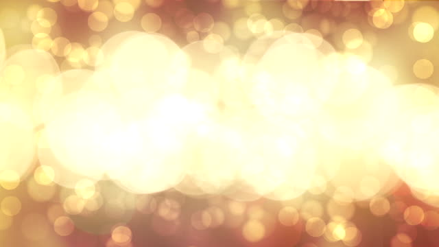 Gold background video