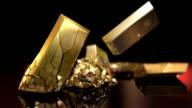 HD: Gold bars destruction video