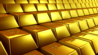 Gold Bars Loopable video