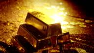 Gold bars video