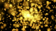 Gold Blurred Background video