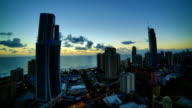 Gold Coast, Queensland, Australia Sunrise time lapse video