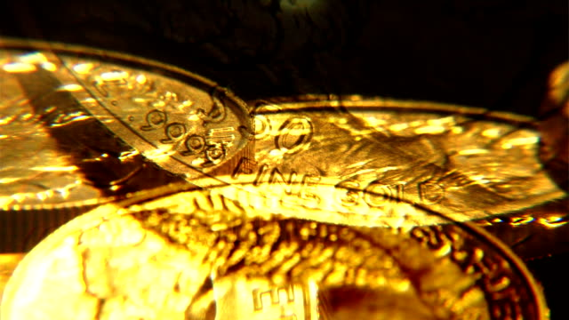 Gold Coin Background video