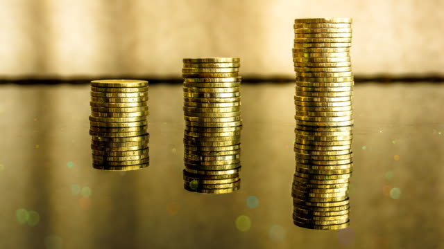 Gold Coin Financial Investment Growth video