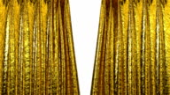 Gold Curtain opening HD 1080 video
