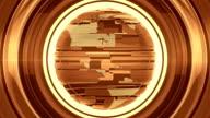 Gold Glossy Globe video