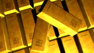 Gold Ingots and Fly Cam HD video