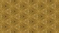 gold kaleidoscope backgrounds video