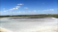 Gold Mining  - Aerial View - Orange Free State,  Lejweleputswa District Municipality,  Matjhabeng,  South Africa video