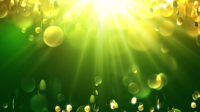 Gold Particle Background. Loop video