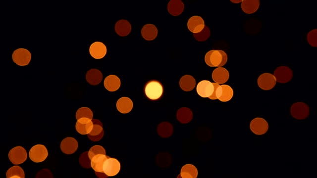 Gold Particles Twinkling Loop video