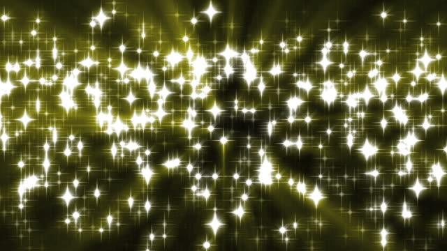Gold Sparkles Background Loop video