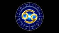 golden cancer zodiacal video