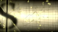 Golden Dollars Background video