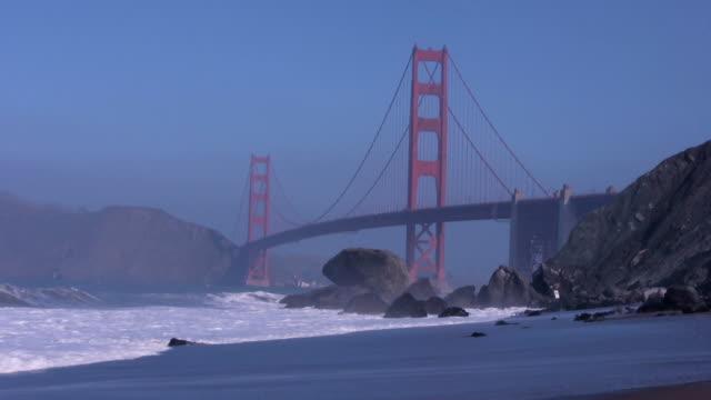 Golden Gate Bridge 3 HD video