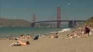 Golden Gate Bridge and Beach video
