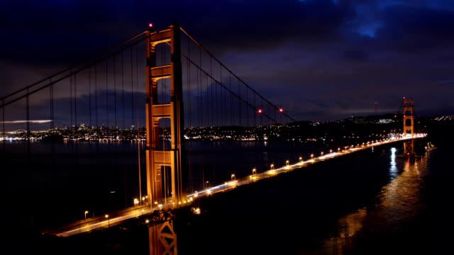 Golden Gate Bridge at Dawn video