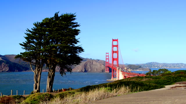 Golden Gate Bridge by Baker Beach, San Francisco video