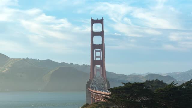 Golden Gate Bridge Day to Night time-lapse video