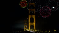 Golden Gate Bridge Fireworks video