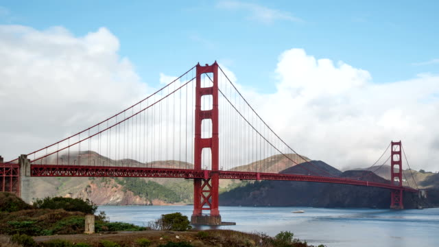 Golden Gate Bridge in San Francisco Time Lapse video